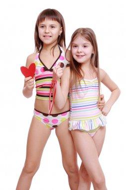 Adorable little girls