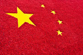 Fotografie China flag background