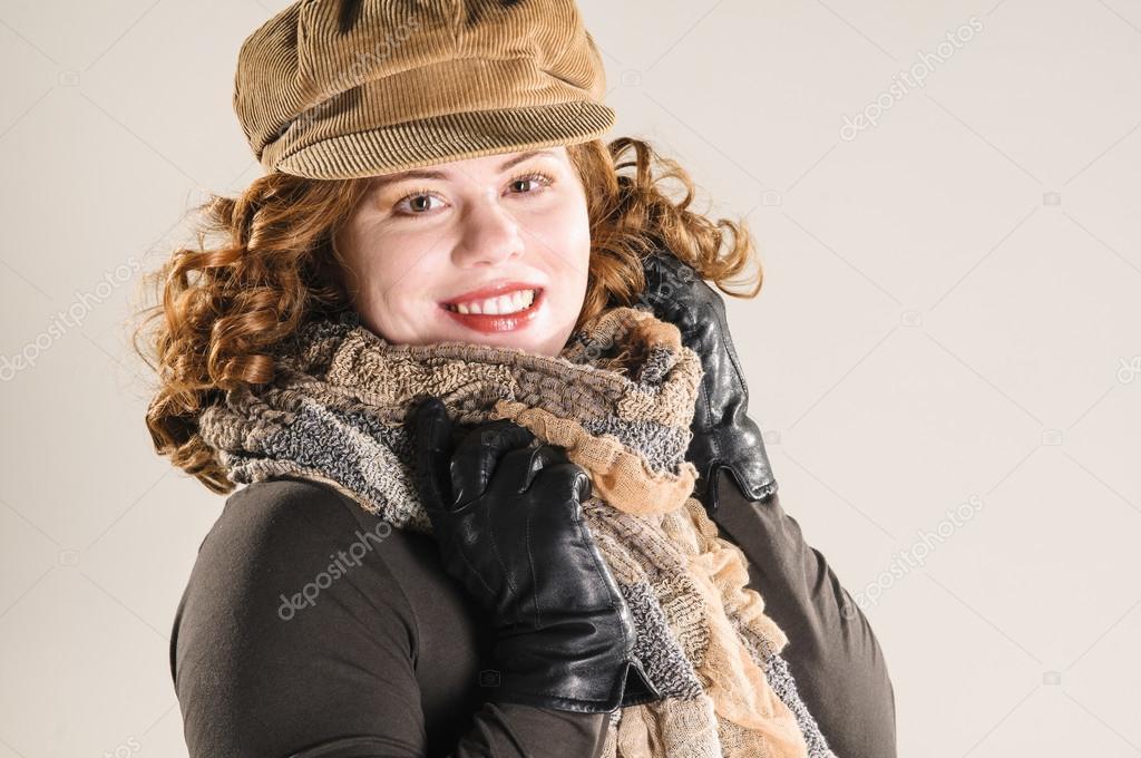 16e505624 Two girls wearing autumn clothes — Stock Photo © runzelkorn  24794217