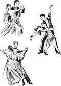 Fotografie Dancing couples