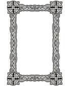 Photo Celtic decorative knot frame