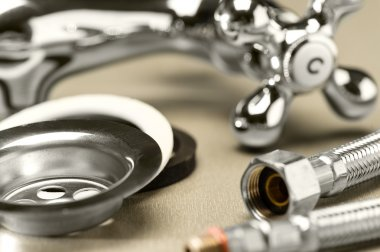 A selection of plumbing accessories