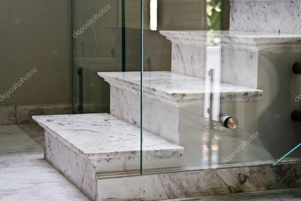 Marble Staircase U2014 Stock Photo