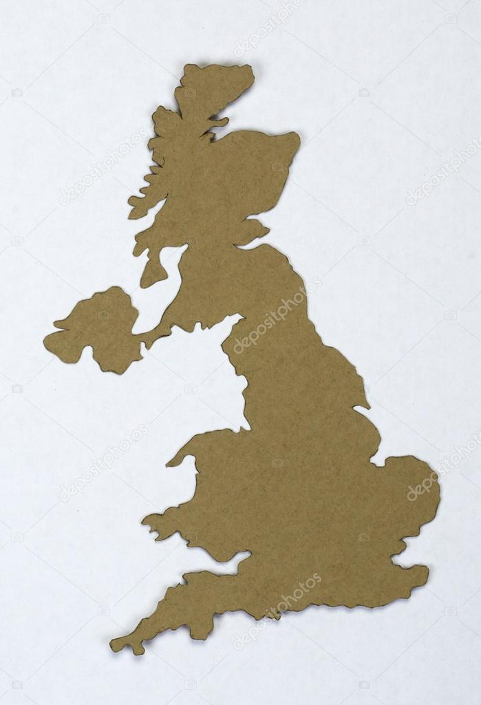 Map of england cut from old paper stock photo nikolos 22256283 map of england cut from old paper stock photo gumiabroncs Choice Image