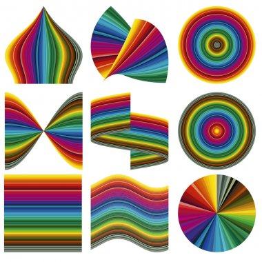 Vector color palette