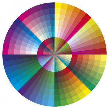 Vector color palette