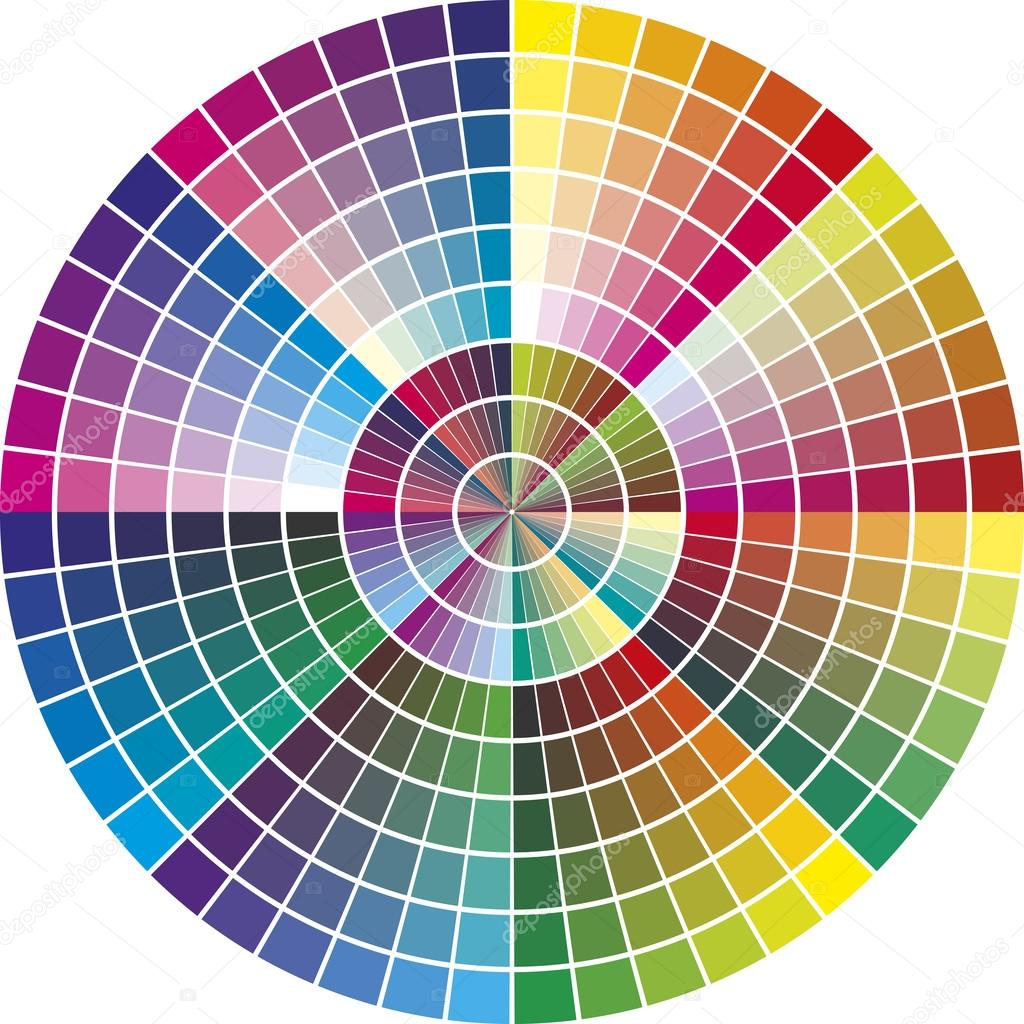 Round vector color chart stock vector sangoiri 41745601 round vector color chart stock vector 41745601 nvjuhfo Images