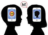 komunikace se serverem sms