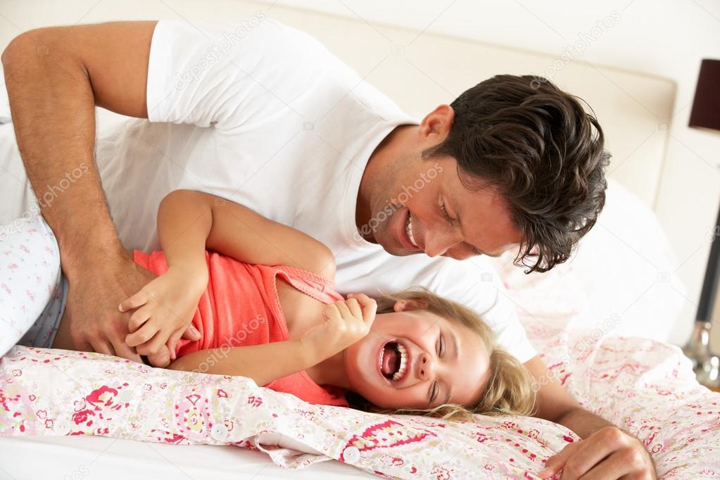 Рассказ в постели родиткли дочь и