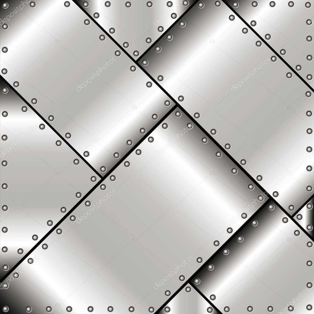 background of metal plates stock vector evgen79 18661619. Black Bedroom Furniture Sets. Home Design Ideas