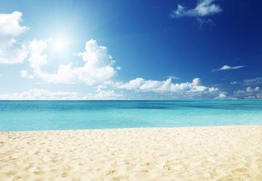 """Картина, постер, плакат, фотообои """"море и песок"""", артикул 12698614"""