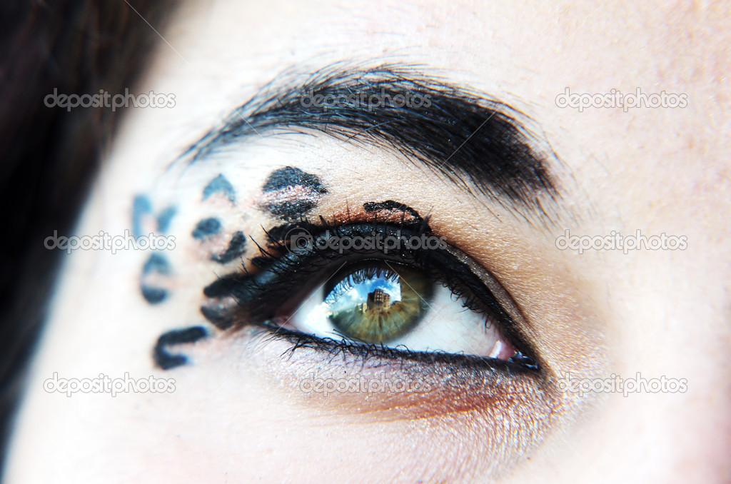 Eyeshadow Makeup Designs Eye Makeup With Special Designs Stock Photo C Diabolique04 13614166