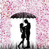 mladý pár v lásce