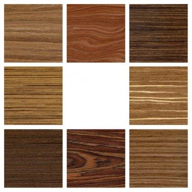 Collage wood texture for design interior