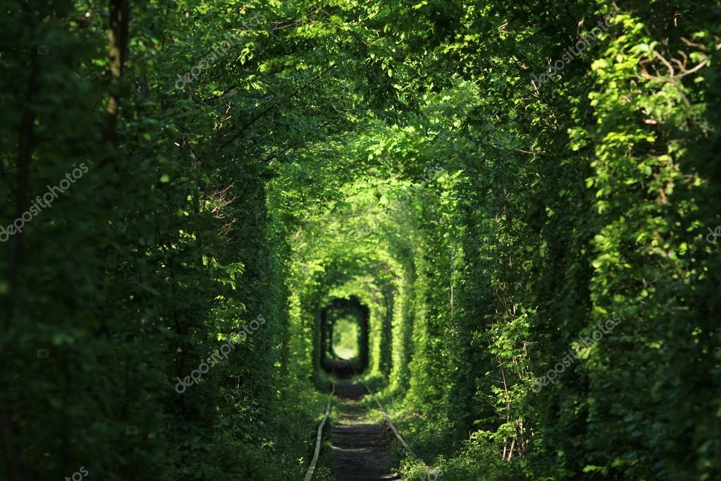 Natural tunnel