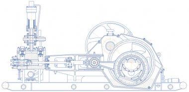 Drilling triplex pump