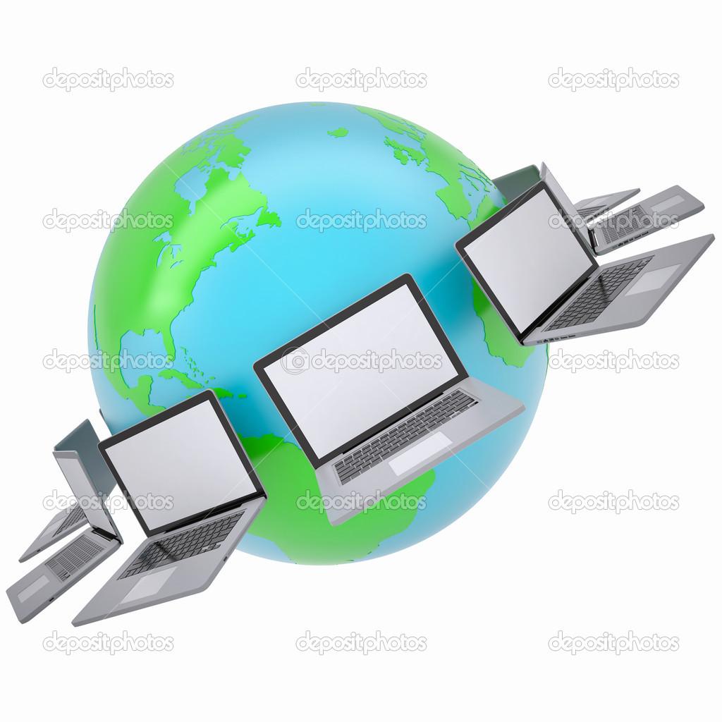 Resultado de imagen de tierra y ordenadores alrededor