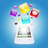 Inteligentní ikony telefonu a programu