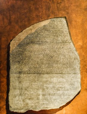 Replica of Rosetta Stone