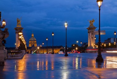 Alexandre III Bridge, Paris, France