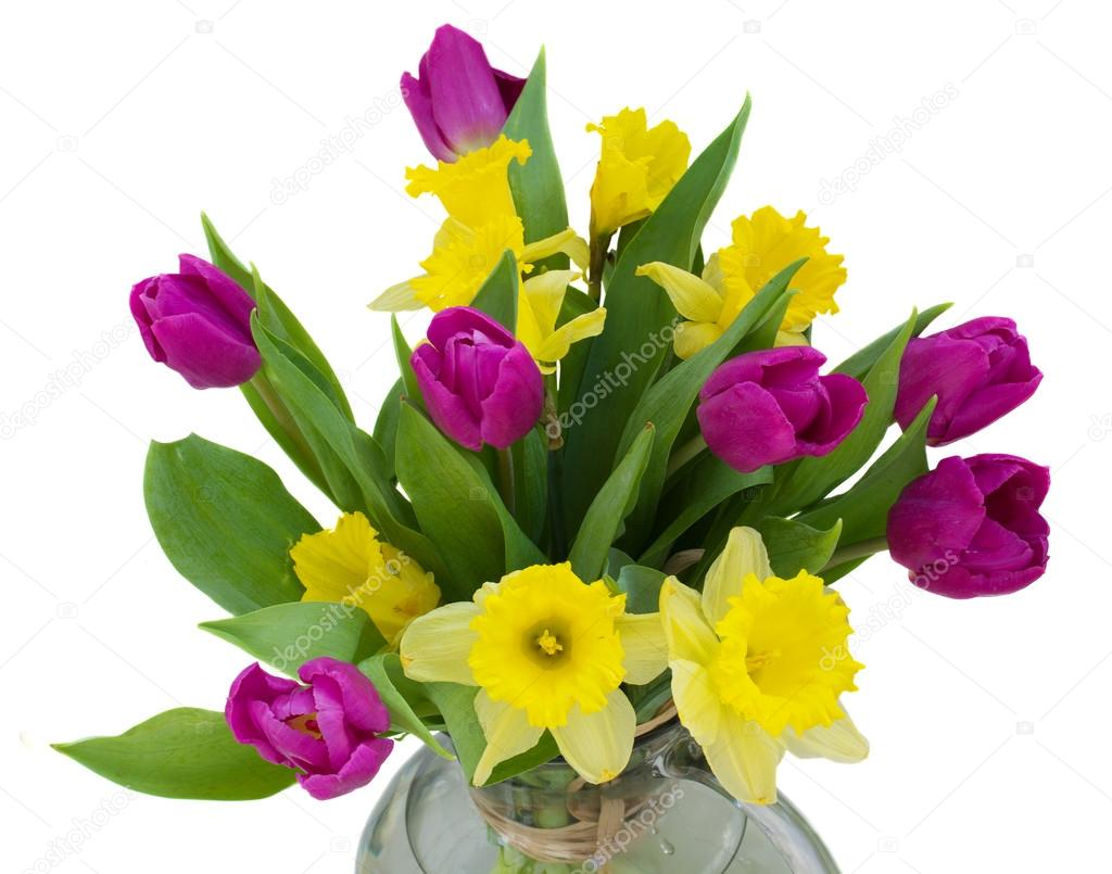 Spring flowers bouquet — Stock Photo © Neirfys #17210801