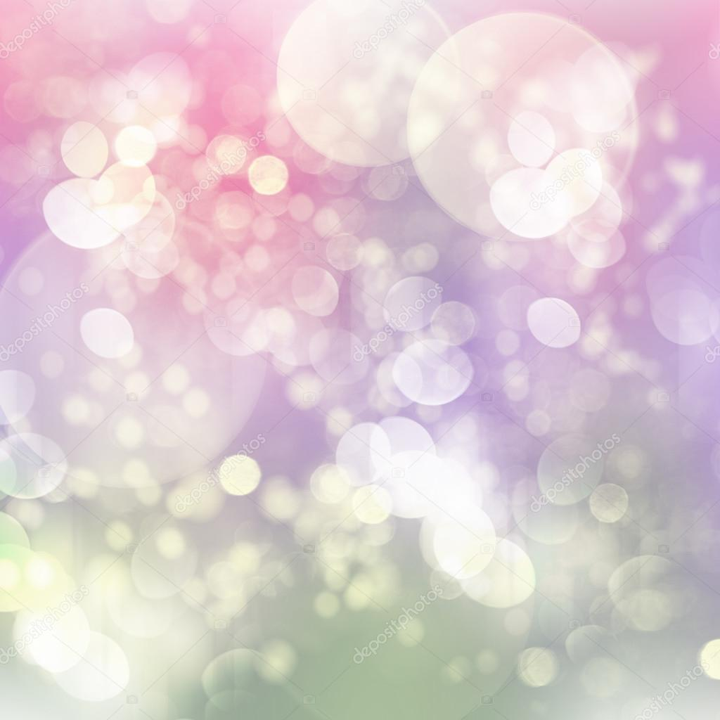 Festive lights background