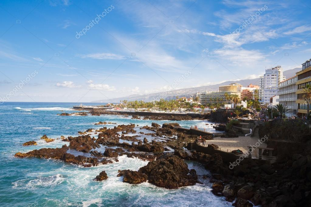 Baños Tenerife | Puerto De La Cruz Tenerife Stock Photo C Neirfys 42384483