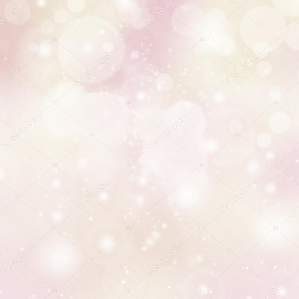 Pink Lights Festive background