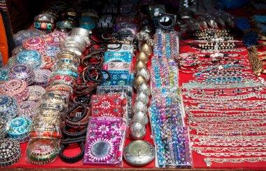 Souvenirs at Goa market