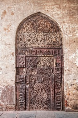 Ethnic old door