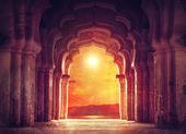 Fotografie Alter Tempel in Indien