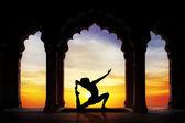 Yoga nel tempio