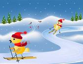 Fényképek Ski versenyek