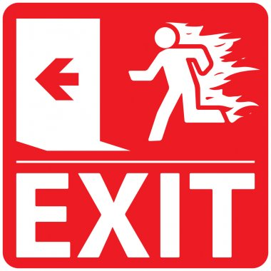 Emergency Fire Exit Set 1