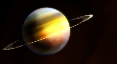 Saturn, planet of the solar system
