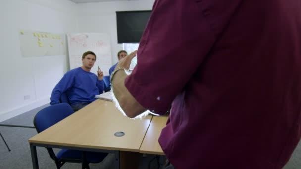 nové rekruty nebo na pracovní školení dělnických pracovníků