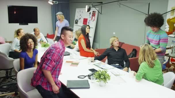 Geschäftsmann in kreative Business-meeting