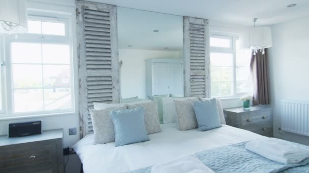 Elegant bedroom with en suite bathroom