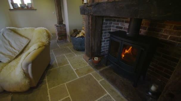 obývací pokoj plocha v stylové venkovského domu