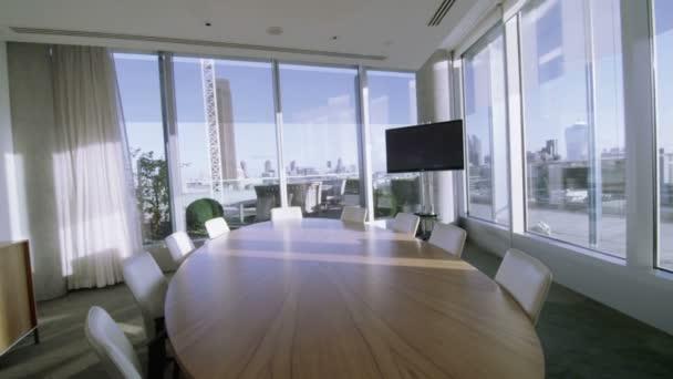 prázdné zasedací místnost v Londýně kancelářská budova