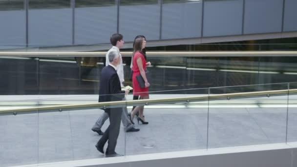 Businessmen meet and shake hands