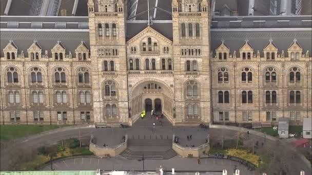 Luftbild oberhalb der London Stadt alte historische Häuser