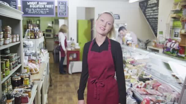 Happy Customer In Store