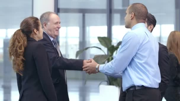 Business team  shake hands