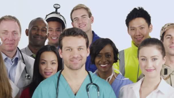 multietnické skupina podnikatelů