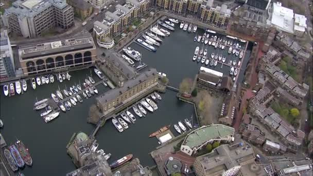 Luftaufnahme über der Stadt london