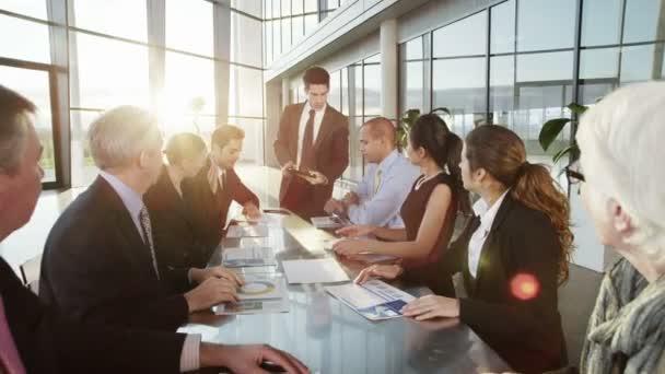 Fotografie Business Team Meeting halten