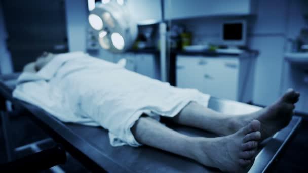 Dead male body
