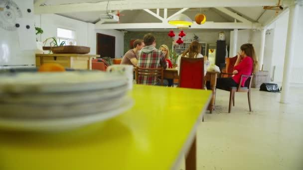 pohled od vzdálenosti příležitostné kreativní pracovní setkání