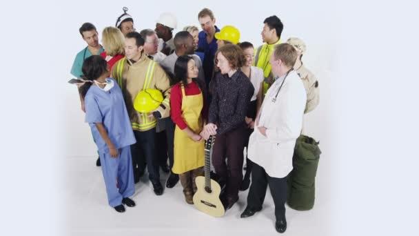 multi etnická skupina podnikatelů